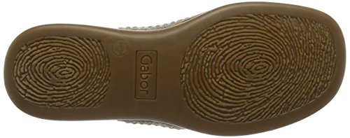 Gabor Shoes Fashion, Mules Para Mujer Beige (kiesel 83)