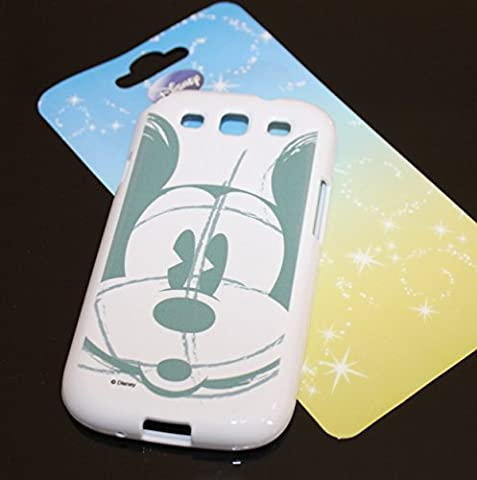 WirelessMobile; Samsung Galaxy S3 Case - [Sketch Mickey Mouse] Soft Silicone Protector TPU Shield Skin Cover For Samsung Galaxy S3 (S3 Cases Mickey Mouse)