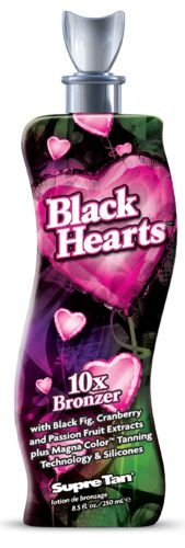 Black Hearts 10x DHA & Natural Bronzer w/Silicone 8.5oz by S