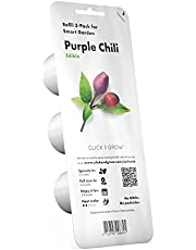 Click and Grow Smart Garden Purple Chili Plant Pods, 3-Pack