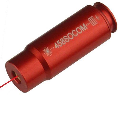 GRG 458 SOCOM Laser Bore Sighter Boresighter Aluminum 6061 T6 Anodized Red Color