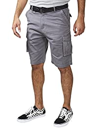 1891 Mens 100% Cotton Cargo Shorts with Multiple Pockets (See More Colors and Sizes)