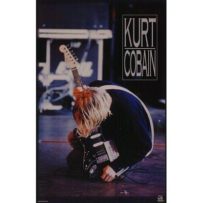 Kurt Cobain Music Poster Print