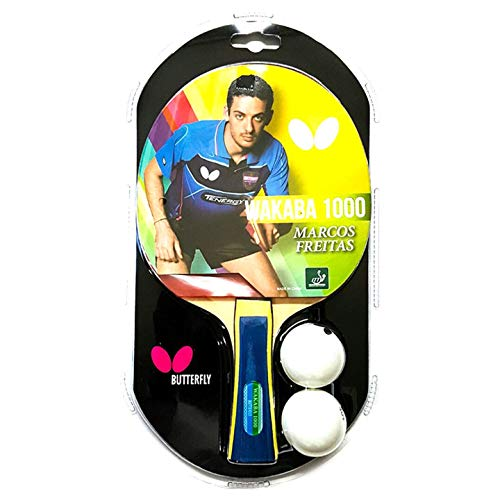 Butterfly Wakaba Table Tennis Racket - 3 Ping Pong Models - ITTF Approved Ping Pong Paddle - Ping Pong Racket Attacks with Great Speed and Spin