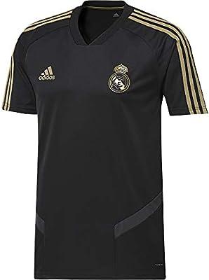 official photos ea0c1 05d87 adidas Men's REAL MADRID Training Jersey, Black (Black/dark ...
