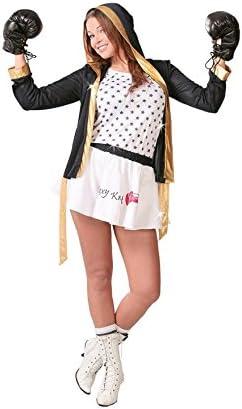Disfraz de Boxeadora Sexy para mujer: Amazon.es: Juguetes y juegos