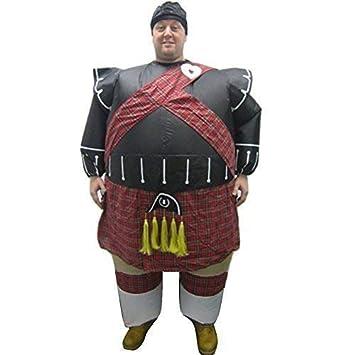 Eurotrade W Ltd Nuevo Inflatable Gaitero Escocés Disfraz ...