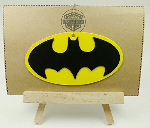 Batman Ornament | Justice League | DC Comics | Rear View Mirror | Bruce Wayne | Gift Exchange