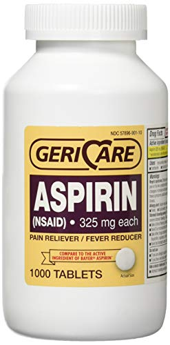 GoodSense Aspirin Pain Reliever, 325 mg, Bottle of 1000 Tablets ()