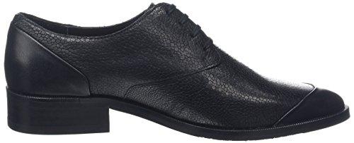 Royal Republiq Prime Fringe Shoe-Blk, Derbys Femme Noir (Black 01)
