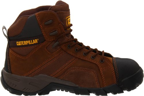 Caterpillar Mens Argon Hi Wp Ct Scarponcini Da Trekking Marrone Scuro