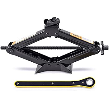 Amazon com: Fasmov Scissor Jack-1 5 Ton,Black: Automotive