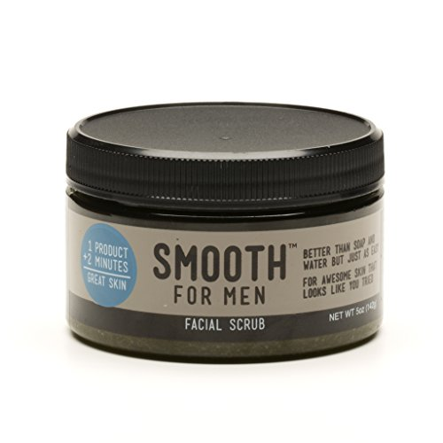 Smooth for Men Green Tea with Tea Tree Facial Scrub