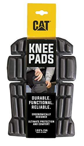 Caterpillar Knee Pads, Black, One Size ()