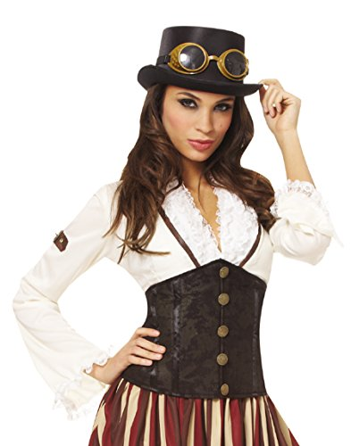[Waist Cincher Belt] (Steampunk Gypsy Costume)