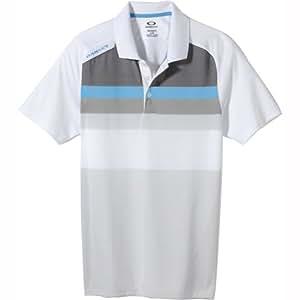 Oakley Men's Cascade Golf Shirt, White, XX-Large