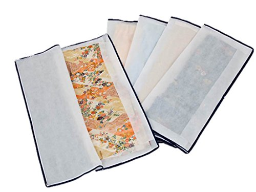 Open 5 Disc Kimono Storage Case (Made of Non-woven Cloth) 3-way JAPAN