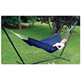 Campers Compact Hammock with Carry Bag (Random Color) 225lb Limit