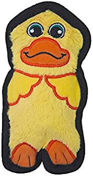 Outward Hound Stuffingless Minis Dog Toy with Invincible Squeakers