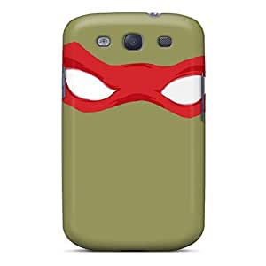 Galaxy Cover Case - Tmnt Raphael Protective Case Compatibel With Galaxy S3