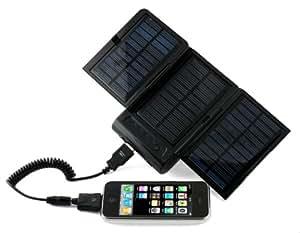 Energizer SP2000 - Cargador (Cámara digital, GPS, Teléfono móvil, Solar, Negro, 4h)