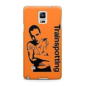 Ewan Trainspotting Movie Full Wrap Rough Case Skin, Fashion Design Image Custom , Durable Hard 3d Case Cover for Samsung Galaxy Note 4 Regular Case New Design
