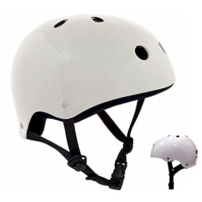 Casque blanc brillant SFR
