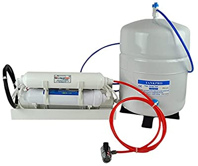 Portable /Counter Top Reverse Osmosis Water System with a tank 50 GPD MEMBRANE