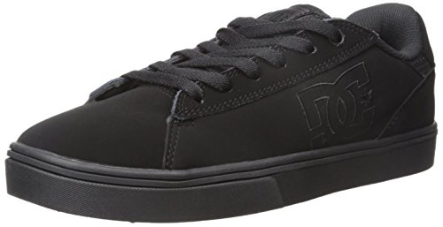 DC Men's Notch Skate Shoe, Black, 13 M US