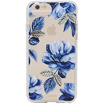 low priced cd6bf eb0b9 Amazon.com: iPhone 8, 7, 6, Sonix Sapphire Bloom (white, blue ...