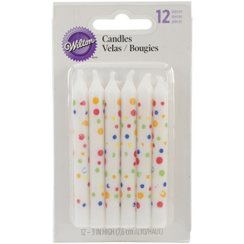 Wilton Candles, Sweet Dots Party,