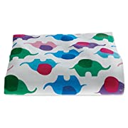 3 Pack, Hospital Receiving Blankets, Baby Blankets, 100% Cotton, 30x40, Elephant