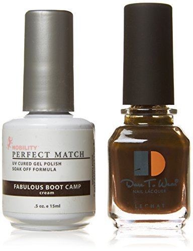 Le Chat Perfect Match Led-Uv Gel Polish Kits - Complete A-Z Collection, Fabulous Boot Camp