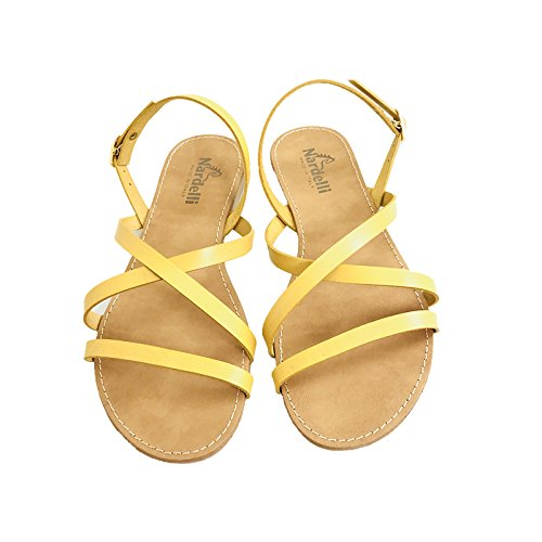 Nardelli Women's Fashion Sandals Yellow Yellow 7wUEB0u