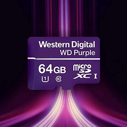 Western Digital Wd Purple Sc Qd312 64gb Microsdxc Computer Zubehör
