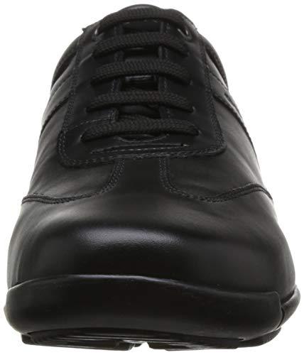 de de de Deporte Hombre Calzado EDGWARE Geox Ocio con y Zapato U843BC Deportivo de mínimo Zapatillas Negocios de Schwarz Calzado Calle Cordones Casual varón Exterior Zapatilla Calzado qE0Sa