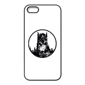 iPhone 5 5s Cell Phone Case Black Batman Architecture SUX_970859