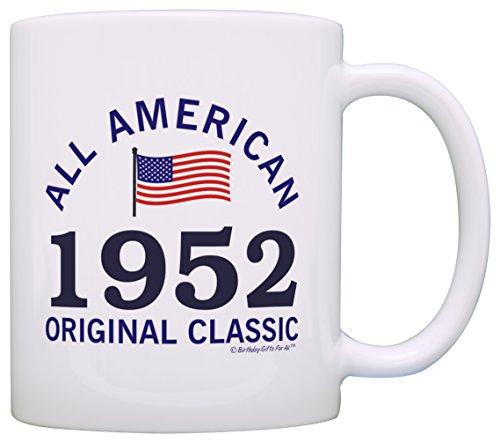 65th Birthday Gifts All American Original Classic 1942 Funny 65th Birthday Party Supplies 65th Birthday Gag Gift Coffee Mug Tea Cup White