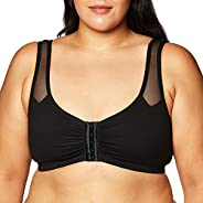 Fruit of the Loom Womens Comfort Front Close Sport Bra with Mesh Straps