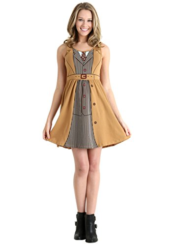 [Doctor Who Her Universe David Tennant Tenth Doctor Costume Dress (2XL)] (David Tennant Who Costume)