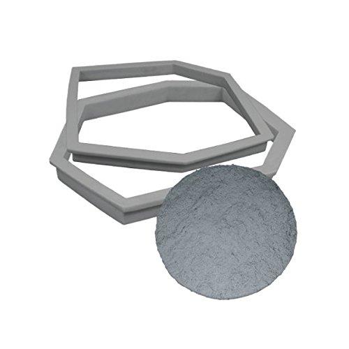 Stepstone Maker | Concrete Stepping Stone Molds | DIY Pathmate Kit | Concrete Stamp Stone Texture (Sandstone)