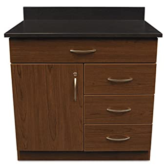 Alera Hospitality Base Cabinet, 4 Drawers/Door, 36w X 24d X 34h,