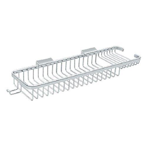 (Deltana WBR1850HU26 17 1/2-Inch Rectangular Wire Basket with Hook )