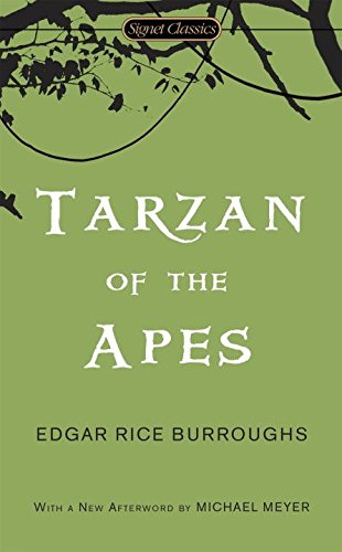 Book cover for Tarzan of the Apes