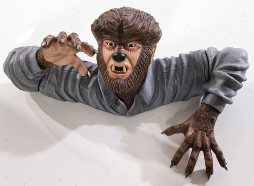 The Wolf Man Grave Walker Decor - THE WOLF MAN GRAVE WALKER ANIMATED PROP EFFECT HAUNTED HOUSE DECOR Props Theme - RU68380