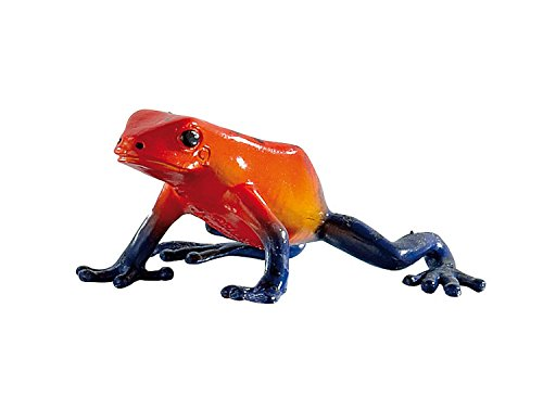 Bullyland Red-Eyed Tree Frog Action Figure, (Poison Arrow Dart Frog)