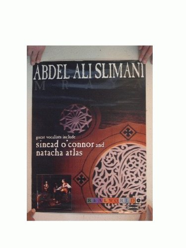 Abdel Ali Slimani Poster MRAYA Sinead O'Connor Natacha Atlas