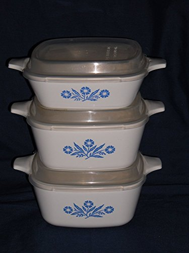 3-corning-ware-cornflower-corn-flower-casseroles-w-plastic-lids-set-of-3