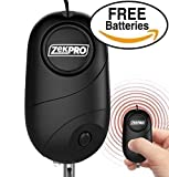 Emergency Personal Alarm [EXTREME SOUND] 130 dB Premium Quality Portable with LED Light - Self Defense Keychain For Kids Women Elderly Protection - Best Survival Whistle