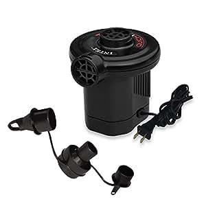 Intex Quick-Fill AC Electric Air Pump, 110-120 Volt, Max. Air Flow 21.2CFM (2 Air Pump)